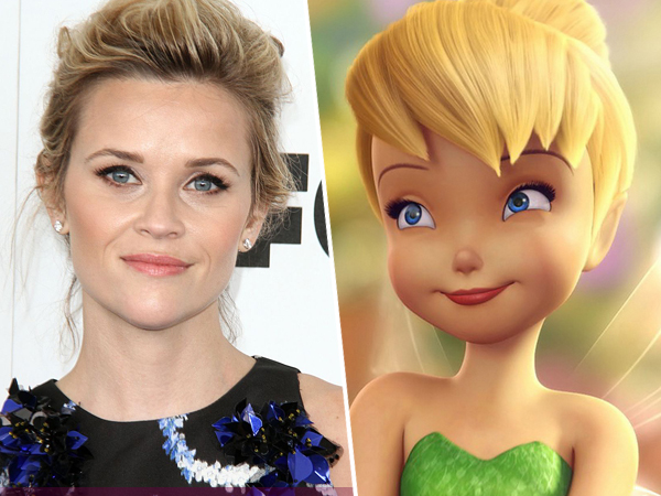 Reese Witherspoon Jadi Peri Tinker Bell Dalam Film Live Action 'Tink'