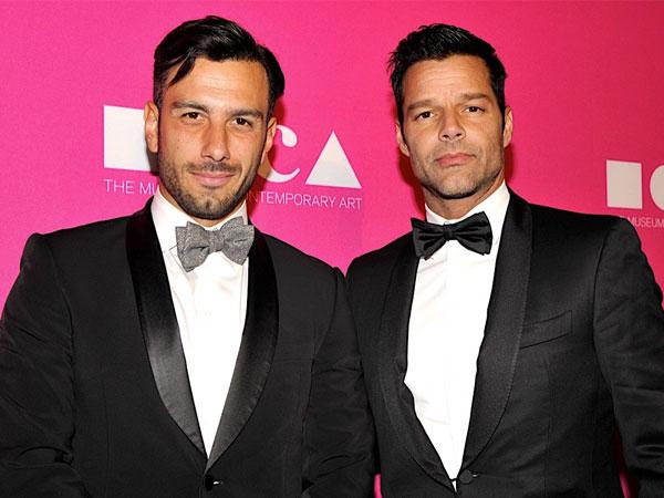 Ricky Martin Akan Gelar Pernikahan Megah dengan Tunangan Prianya