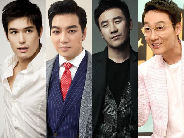 Aktor Hingga Komedian, Inilah Daftar Seleb Pria yang Disebut Sebagai 'Hot Papa'