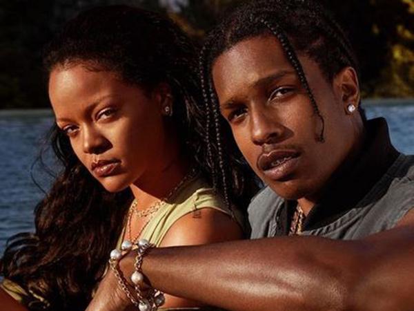 Rihanna Disebut Pacari Rapper A$AP Rocky