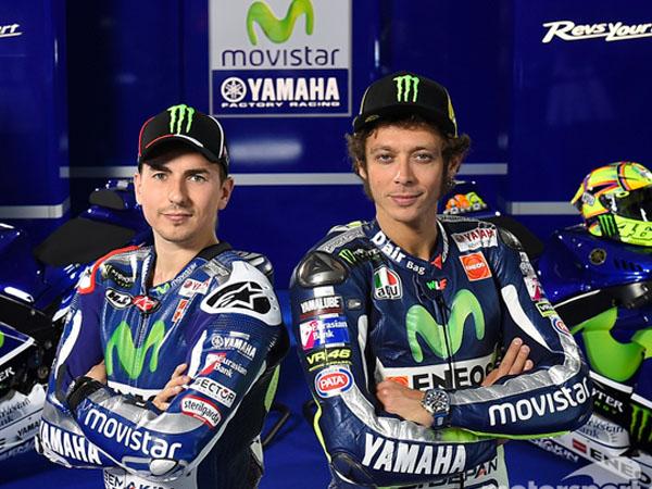 Sempat Berseteru, Petinggi Yamaha Minta Jorge Lorenzo dan Valentino Rossi Bersikap Dewasa