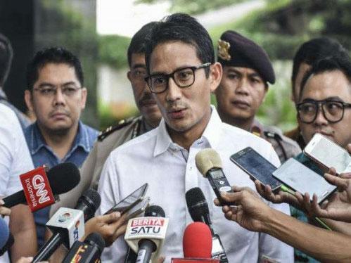 Tanggapan Sandiaga Uno Perkara Ahok Gabung dalam Timses Jokowi-Ma'ruf