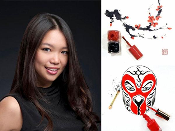 Keren, Seniman Cantik Ini Ciptakan Pemandangan Imlek Dengan Alat Make up!