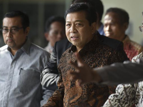 Jadi Tersangka Korupsi e-KTP, Setya Novanto Diminta Mundur dari Jabatan Ketua DPR