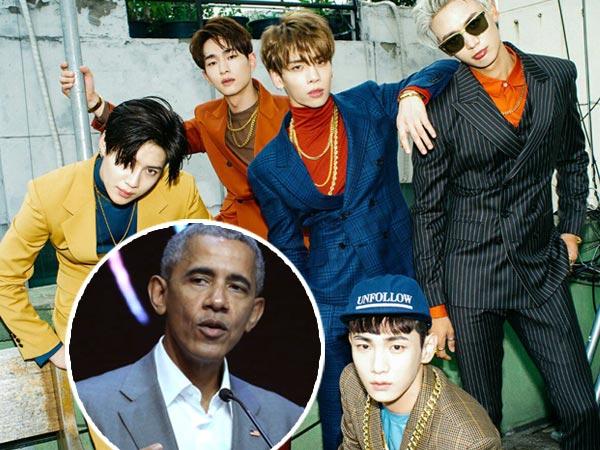 Barack Obama Singgung Nama SHINee dalam Pidato di '8th Asian Leadership Conference'