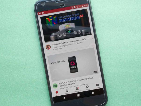 Tampilan Baru Aplikasi YouTube Mobile di Perangkat Android