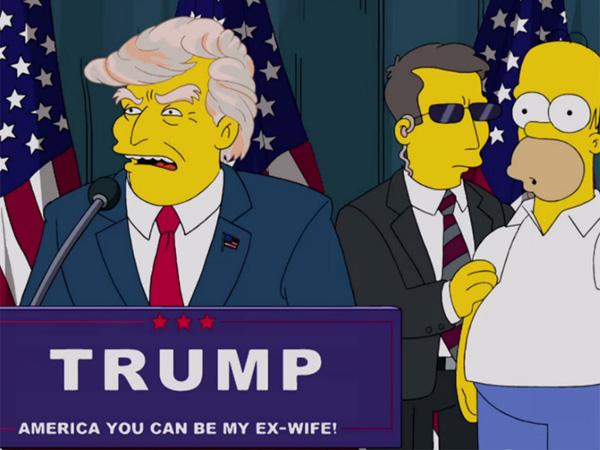 Ketika Lelucon The Simpsons 16 Tahun Lalu Soal Prediksi Donald Trump Pimpin AS Jadi Nyata
