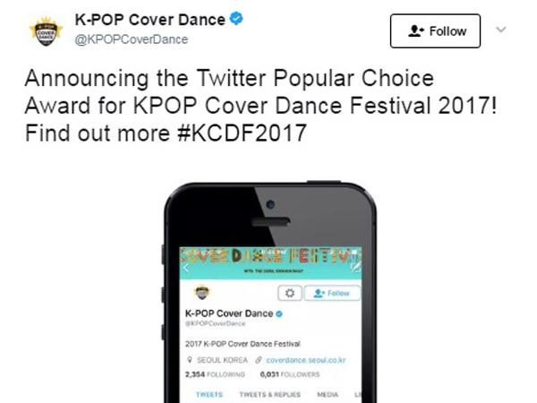 Wah, Twitter Buka Voting dan Bakal Siarkan Langsung Pengumuman KPOP Cover Dance 2017!