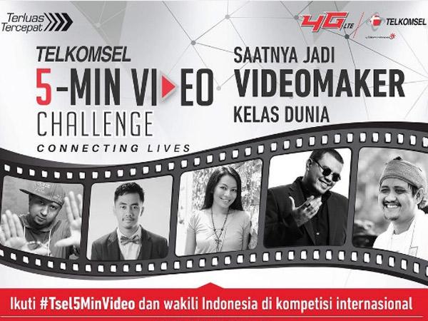 5 Video Terbaik 'Telkomsel 5 Min-Video Challenge' Ini Siap Untuk Kamu Pilih dan Jadi Pemenang!