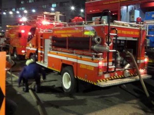 Hydrant tak Berfungsi, Pemadaman Wisma Kosgoro Gunakan Kolam Bundaran HI