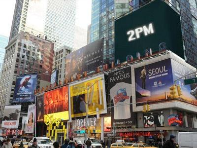 Wow, Trailer Comeback 2PM  Akan Dipasang di Times Square New York & Piccadilly London!