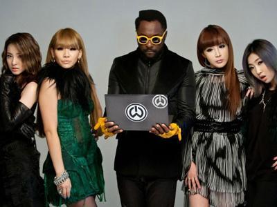 2NE1 Akan Terlibat dalam Album Terbaru Will.I.AM Black Eyed Peas!