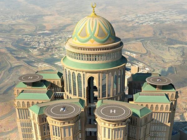 Mekkah Akan Bangun Hotel Terbesar di Dunia