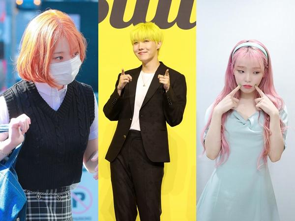 Inspirasi 9 Tren Warna Rambut Ala Idola K-Pop yang Bisa Kamu Coba