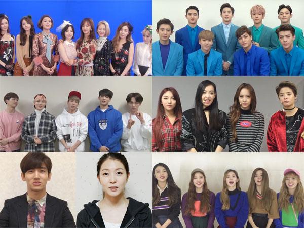 Makin Spesial, Artis dan Staf SM Entertainment Juga Beri Selamat untuk 10 Tahun Debut Super Junior!
