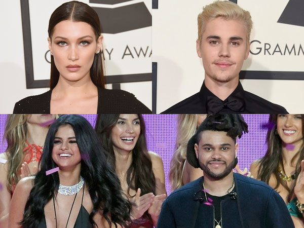 Kompak, Bella Hadid dan Justin Bieber Tuduh Selena Gomez Hanya Manfaatkan The Weeknd