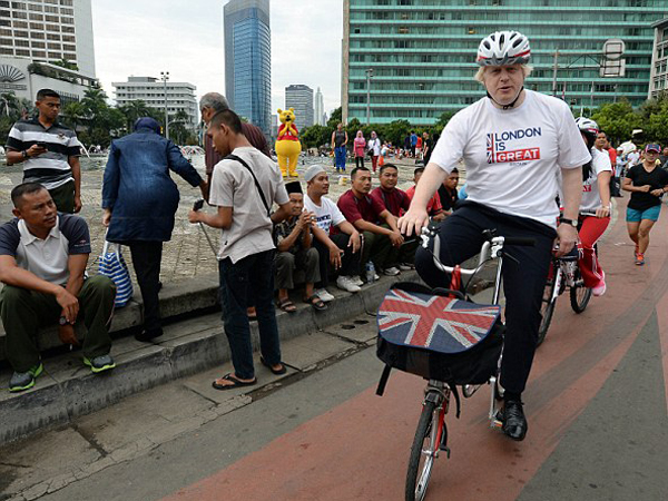 Bersepeda di 'Car Free Day' Jakarta, Apa Kata Wali Kota London?