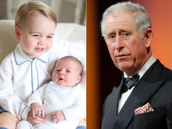 Sayang Cucu, Pangeran Charles Belum Pernah Ganti Popok George dan Charlotte?