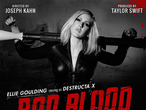 Ellie Goulding dan Aktris Hollywood Juga Ramaikan MV 'Bad Blood' Taylor Swift!