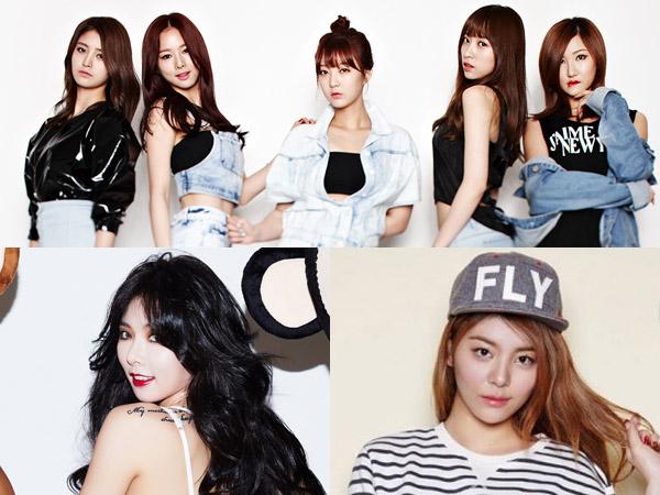 Wah, Lagu 'Up & Down' EXID Ternyata Sempat Jadi Rebutan Ailee dan HyunA?