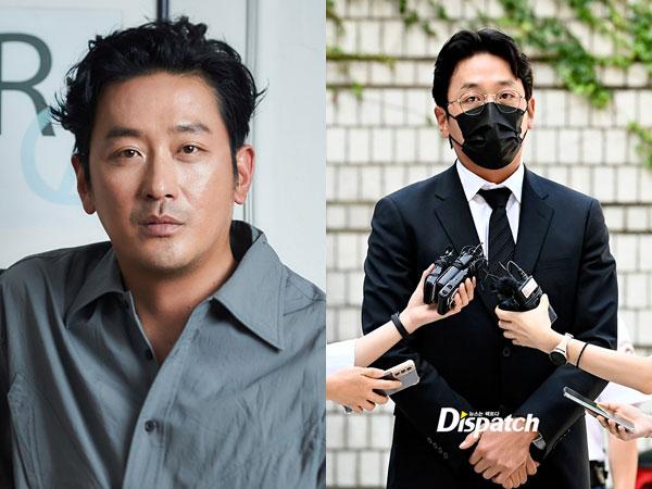 Ha Jung Woo Hadiri Sidang Perdana Kasus Dugaan Pakai Propofol Ilegal