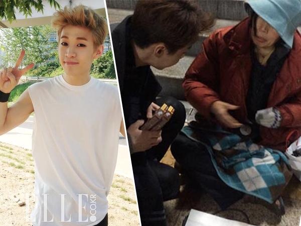 Kebaikan Hati Henry Super Junior-M Pada Seorang Ibu Tua Dipuji Netizen