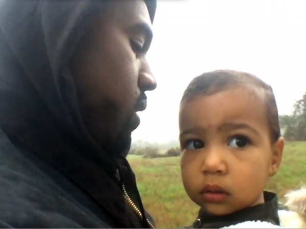 Lucunya North West Tampil di Video Musik Terbaru Kanye West, 'Only One'!