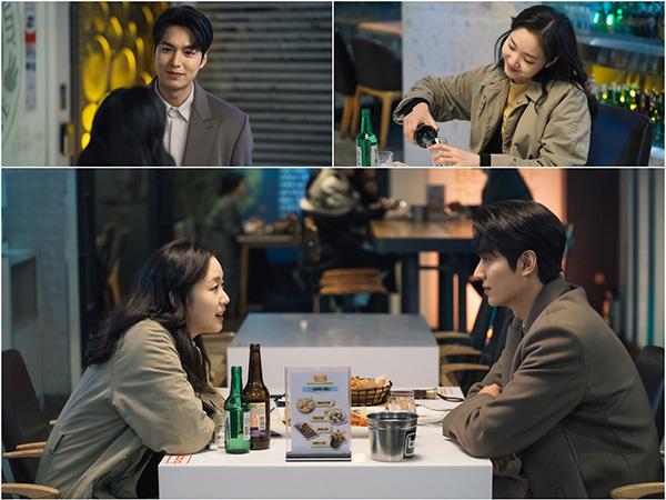 Ketagihan, Lee Min Ho dan Kim Go Eun Kencan Makan Ayam Bikin Hati Penonton Berdebar