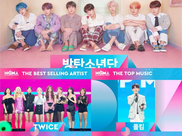 BTS, TWICE, dan Paul Kim Sabet Daesang, Inilah Pemenang M2 X Genie Music Awards 2019