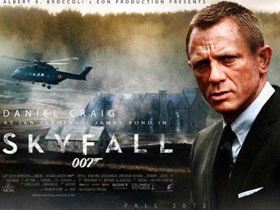 Wow, Skyfall Menjadi Film Terlaris Di Inggris Hanya Dalam Waktu 12 Hari!