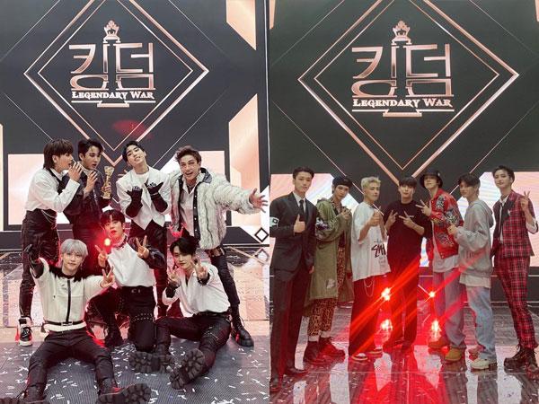 Lagu Stray Kids dan ATEEZ di Babak Final 'Kingdom' Masuk Chart Billboard World Digital Song Sales