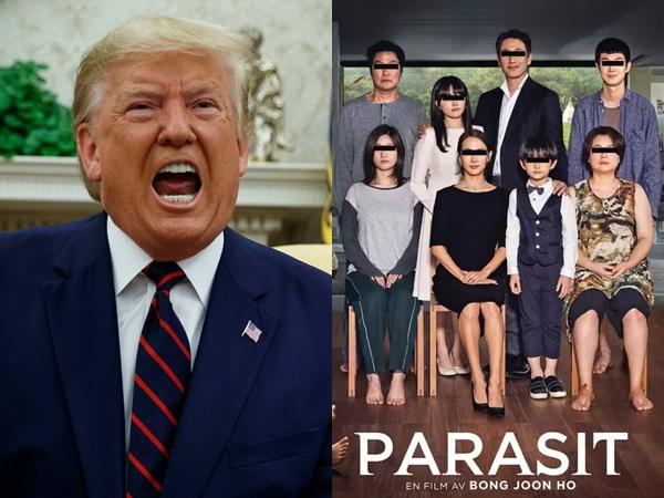 Trump Kritik Pedas Film 'Parasite', NEON: Dia Tidak Bisa Baca Subtitle