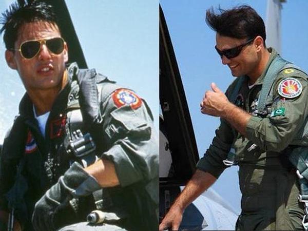Mirip Tom Cruise, Pilot Angkatan Udara Pakistan Ini Hebohkan Sosial Media!