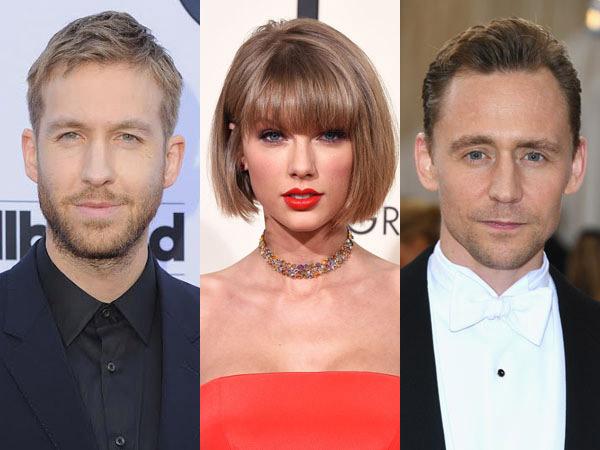 Janjian Bertemu, Calvin Harris dan Tom Hiddleston Balas Dendam Kepada Taylor Swift?