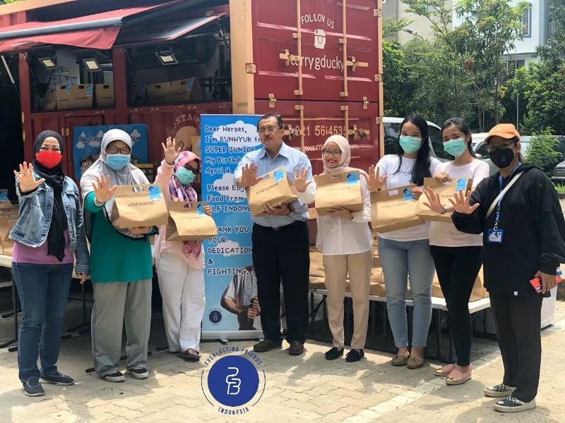 Rayakan Ultah Eunhyuk, ELF Indonesia Donasi Lawan Corona Hingga Kirim Food Truck ke RS