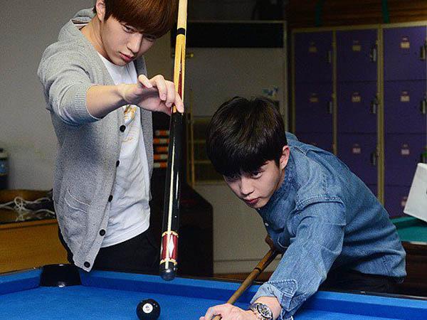 Intip Serunya Adu Permainan L Infinite dan Kim Min Suk di 'Celebrity Bromance'