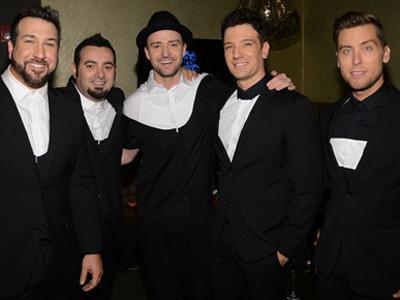 Justin Timberlake Reuni Bareng *NSYNC di MTV VMA 2013!
