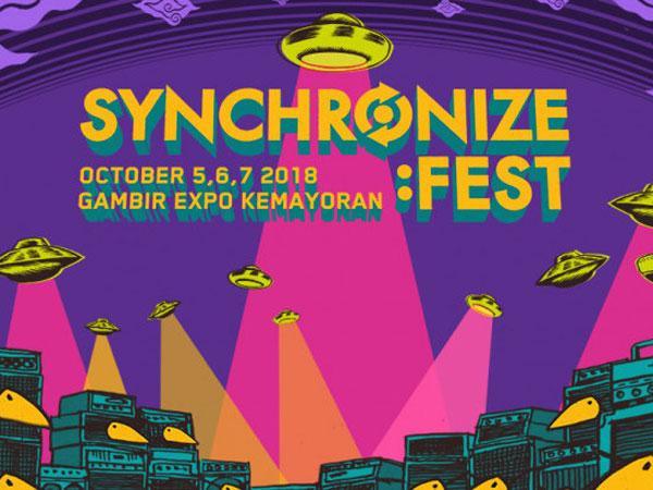'Synchronize Fest' Kembali Umumkan 37 Line Up Terbaru untuk 3 Hari!