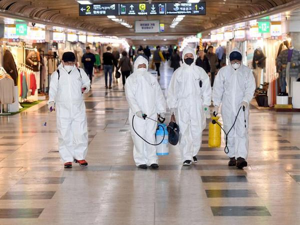 Korban Meninggal Capai 4 Orang, Kasus Virus Corona di Korsel Meningkat Tajam Hingga 602