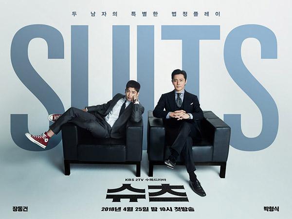 Drama 'Suits' Kembali Puncaki Rating Drama Mingguan Rabu-Kamis