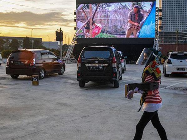 Mengintip Drive In Cinema Meikarta Cikarang, Kekinian Tapi Menuai Polemik