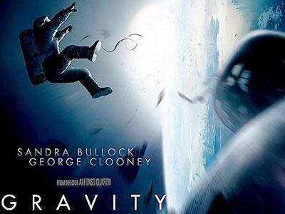 Gravity Dipuji Sebagai Film  Luar Angkasa Terbaik