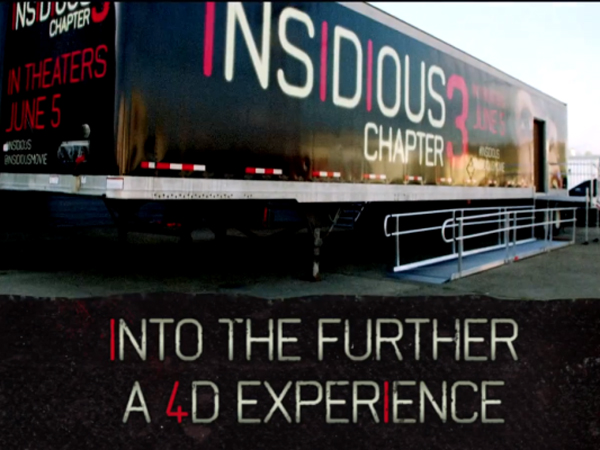 Hiii, Berani Cobain Sensasi Dunia 'Insidious 3' Dalam Bentuk 4D? Gratis!