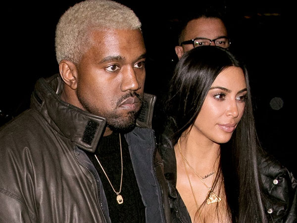 So Sweet, Kanye West Hadiahkan Kim Kardashian Tembok Bunga di Hari Valentine