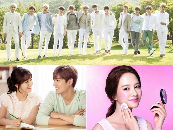 Aktor Hingga Idola K-Pop, Ini Dia Para Seleb yang Jadi Wajah Berbagai Brand Kosmetik Korea