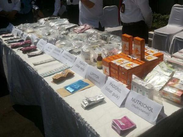 Heboh Peredaran Obat Palsu, Ini Berita Terkini Dari Jakarta dan Sekitarnya