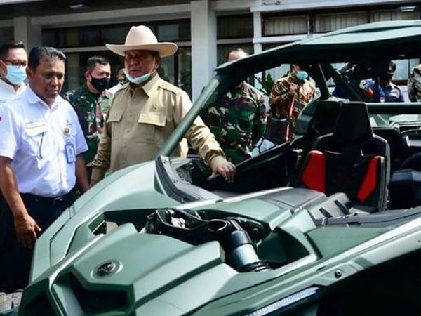 'Belanja Aneh' Menhan Prabowo, Ada Dorongan Dari Presiden Jokowi?