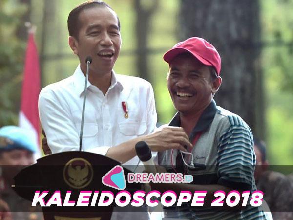 Presiden Jokowi Hingga K-Pop Paling #RamediTwitter Indonesia Sepanjang 2018