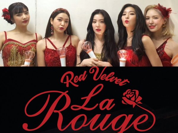 Taeyeon SNSD, Sunmi, Jisoo BLACKPINK hingga Nayeon TWICE Hadiri Konser 'La Rouge' Red Velvet