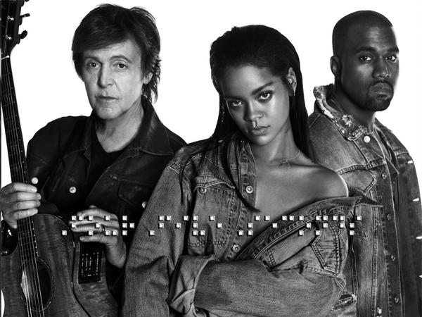 Rihanna ft. Paul McCartney & Kanye West - FourFiveSeconds